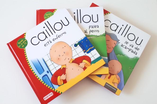 LIBROS DE CAILLOU