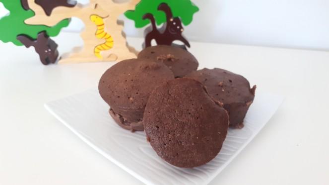 Mugcacke de chocolate y avena en 5 minutos